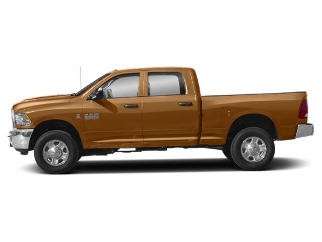 Power Tan 2018 Ram Truck 3500 Pictures 3500 Tradesman 4x4 Crew Cab 8' Box photos side view