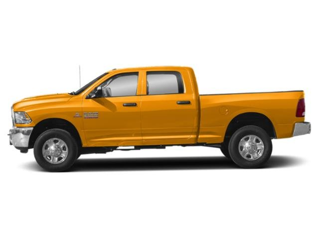 School Bus Yellow 2018 Ram Truck 3500 Pictures 3500 Tradesman 4x4 Crew Cab 8' Box photos side view