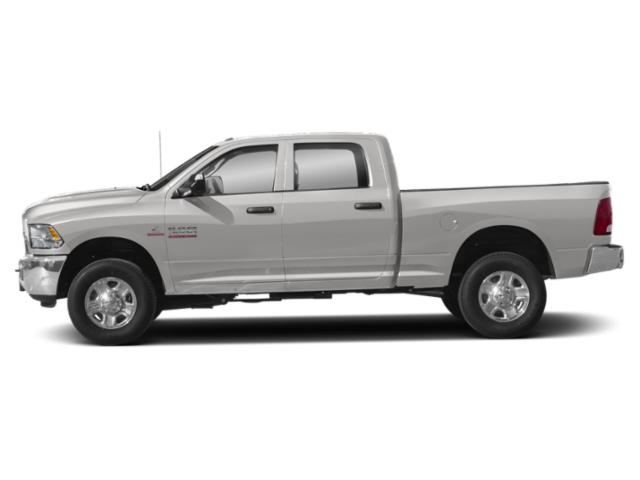 Bright Silver Metallic Clearcoat 2018 Ram Truck 3500 Pictures 3500 Tradesman 4x4 Crew Cab 8' Box photos side view