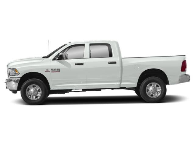 Bright White Clearcoat 2018 Ram Truck 3500 Pictures 3500 Tradesman 4x4 Crew Cab 8' Box photos side view
