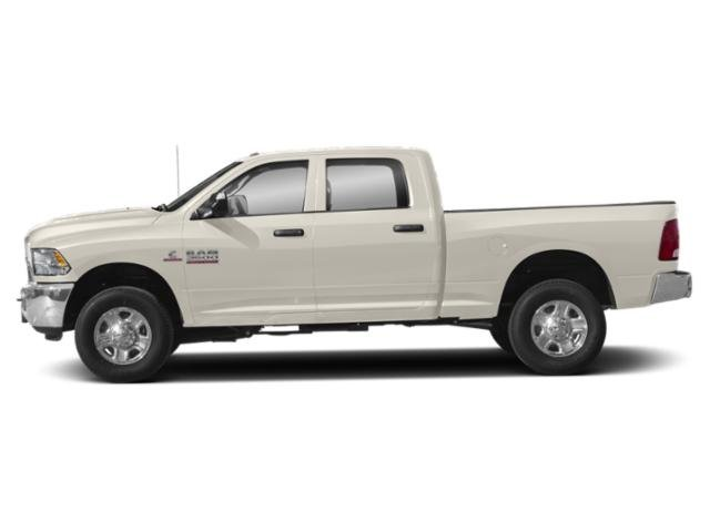 Pearl White 2018 Ram Truck 3500 Pictures 3500 Crew Cab Limited 4WD photos side view