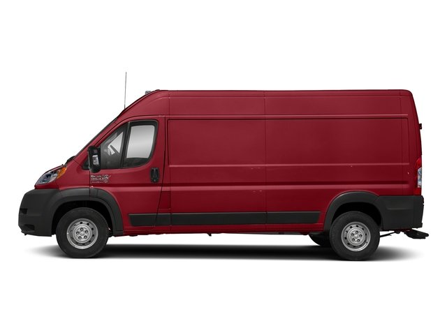 Flame Red Clearcoat 2018 Ram Truck ProMaster Cargo Van Pictures ProMaster Cargo Van 2500 High Roof 159 WB photos side view