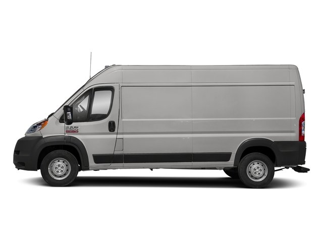 Bright Silver Metallic Clearcoat 2018 Ram Truck ProMaster Cargo Van Pictures ProMaster Cargo Van 2500 High Roof 136 WB photos side view