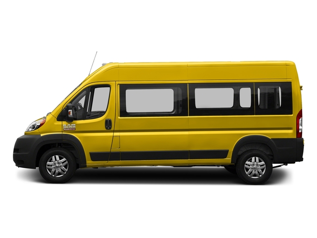 Broom Yellow Clearcoat 2018 Ram Truck ProMaster Window Van Pictures ProMaster Window Van 2500 High Roof 159 WB photos side view