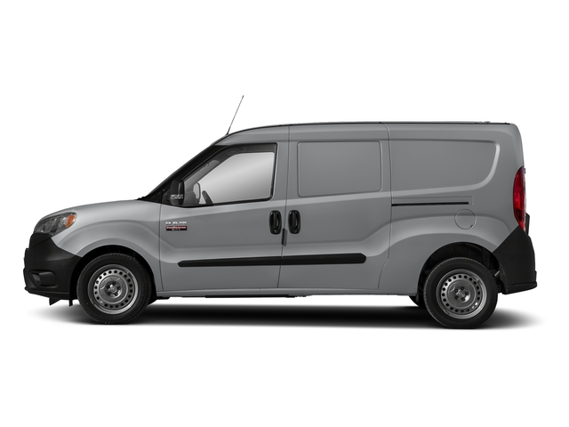 Silver Metallic 2018 Ram Truck ProMaster City Cargo Van Pictures ProMaster City Cargo Van Tradesman SLT Van photos side view