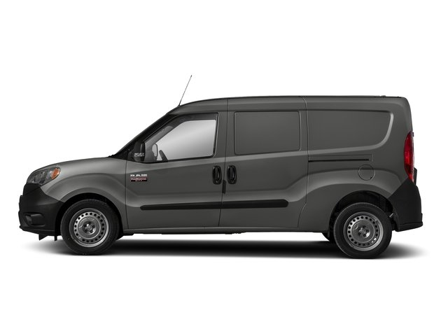 Quartz Gray Metallic 2018 Ram Truck ProMaster City Cargo Van Pictures ProMaster City Cargo Van Tradesman SLT Van photos side view
