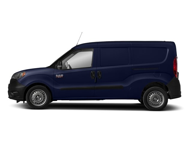 Blue Night Metallic 2018 Ram Truck ProMaster City Cargo Van Pictures ProMaster City Cargo Van Tradesman SLT Van photos side view