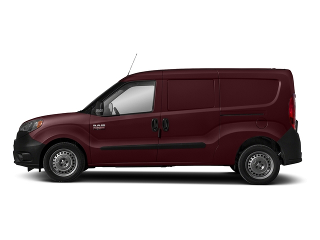 Deep Red Metallic 2018 Ram Truck ProMaster City Cargo Van Pictures ProMaster City Cargo Van Tradesman SLT Van photos side view