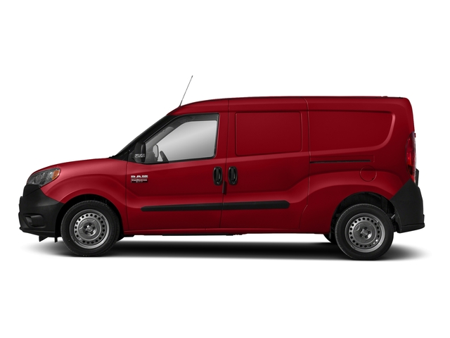 Bright Red 2018 Ram Truck ProMaster City Cargo Van Pictures ProMaster City Cargo Van Tradesman SLT Van photos side view