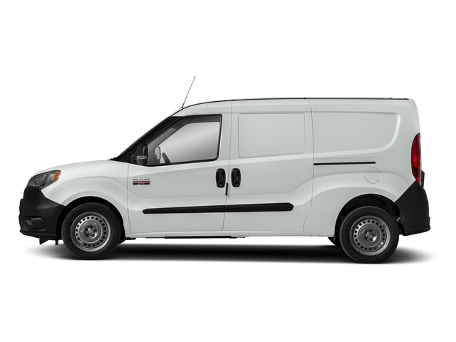 Bright White 2018 Ram Truck ProMaster City Cargo Van Pictures ProMaster City Cargo Van Tradesman SLT Van photos side view