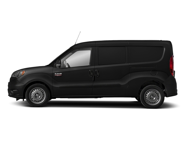 Black Metallic 2018 Ram Truck ProMaster City Cargo Van Pictures ProMaster City Cargo Van Tradesman SLT Van photos side view