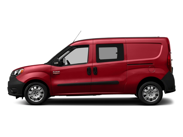 Bright Red 2018 Ram Truck ProMaster City Wagon Pictures ProMaster City Wagon Wagon photos side view