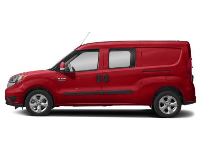 Bright Red 2018 Ram Truck ProMaster City Wagon Pictures ProMaster City Wagon Wagon SLT photos side view