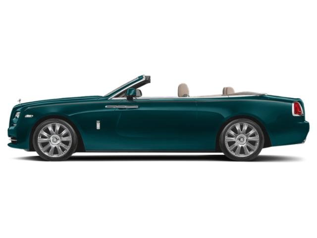 Adriatic Blue 2018 Rolls-Royce Dawn Pictures Dawn 2 Door Drophead Coupe photos side view