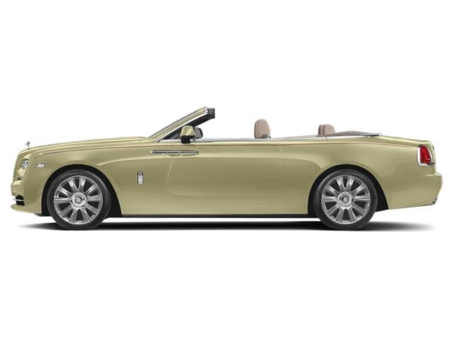 Antique Gold 2018 Rolls-Royce Dawn Pictures Dawn 2 Door Drophead Coupe photos side view