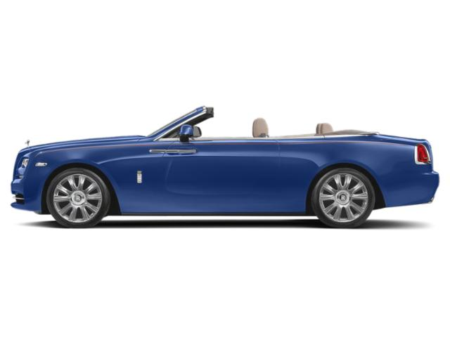 Arabian Blue 2018 Rolls-Royce Dawn Pictures Dawn 2 Door Drophead Coupe photos side view