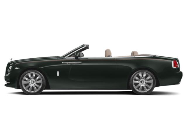 Black Green 2018 Rolls-Royce Dawn Pictures Dawn 2 Door Drophead Coupe photos side view