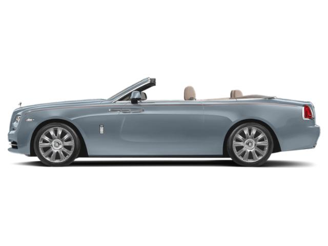 Blue Ice 2018 Rolls-Royce Dawn Pictures Dawn 2 Door Drophead Coupe photos side view