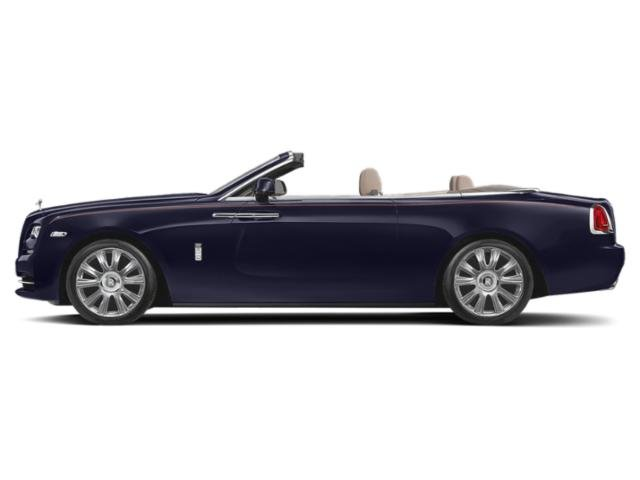 Blue Velvet 2018 Rolls-Royce Dawn Pictures Dawn 2 Door Drophead Coupe photos side view