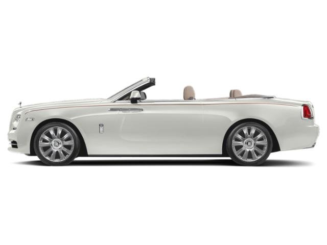 Cassiopeia Silver 2018 Rolls-Royce Dawn Pictures Dawn 2 Door Drophead Coupe photos side view