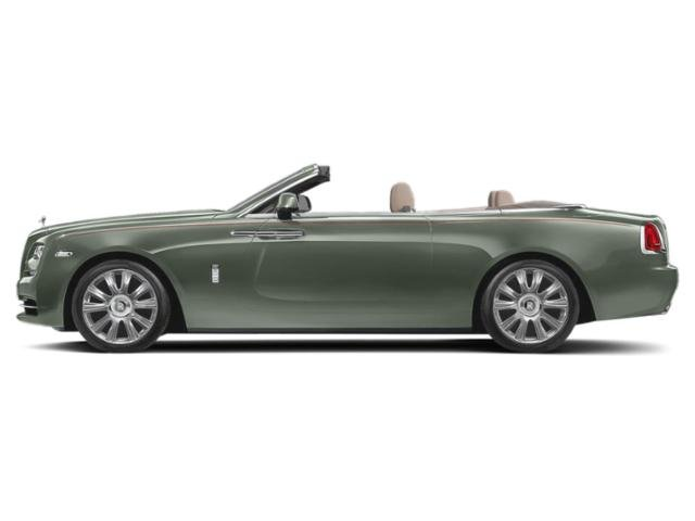Iridium 2018 Rolls-Royce Dawn Pictures Dawn 2 Door Drophead Coupe photos side view