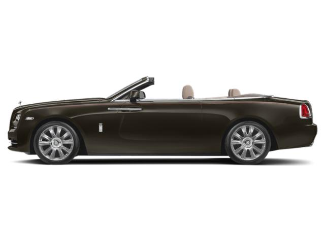 Melanite 2018 Rolls-Royce Dawn Pictures Dawn 2 Door Drophead Coupe photos side view