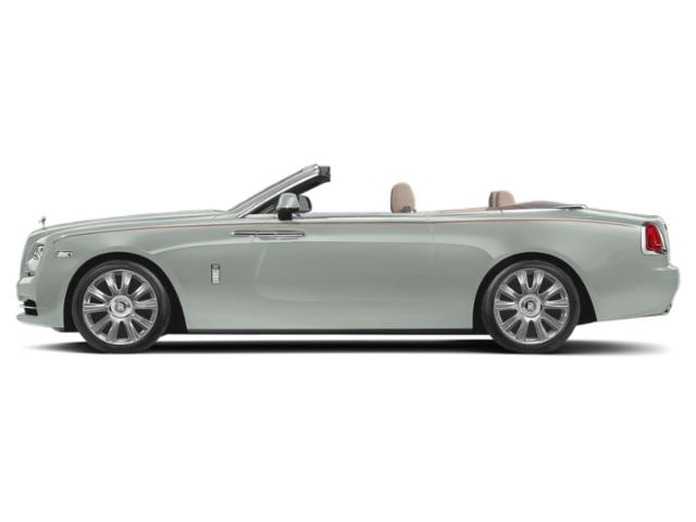 Moonstone Pearl 2018 Rolls-Royce Dawn Pictures Dawn 2 Door Drophead Coupe photos side view