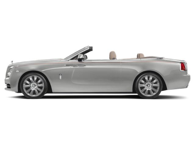 Premiere Silver 2018 Rolls-Royce Dawn Pictures Dawn 2 Door Drophead Coupe photos side view