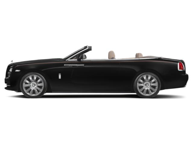 Black 2018 Rolls-Royce Dawn Pictures Dawn 2 Door Drophead Coupe photos side view