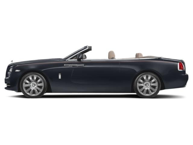 Darkest Tungsten 2018 Rolls-Royce Dawn Pictures Dawn 2 Door Drophead Coupe photos side view