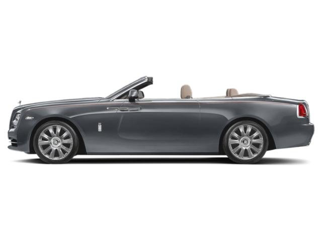 Jubilee Silver 2018 Rolls-Royce Dawn Pictures Dawn 2 Door Drophead Coupe photos side view