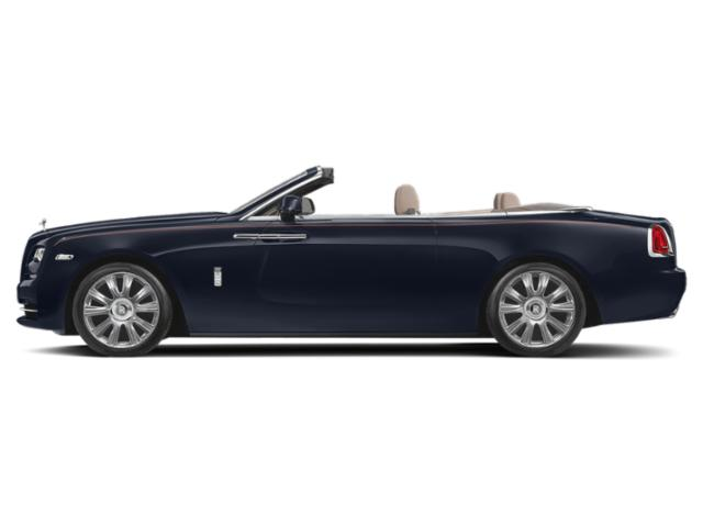 Midnight Sapphire 2018 Rolls-Royce Dawn Pictures Dawn 2 Door Drophead Coupe photos side view