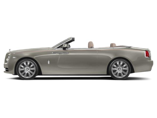 Silver Sand 2018 Rolls-Royce Dawn Pictures Dawn 2 Door Drophead Coupe photos side view