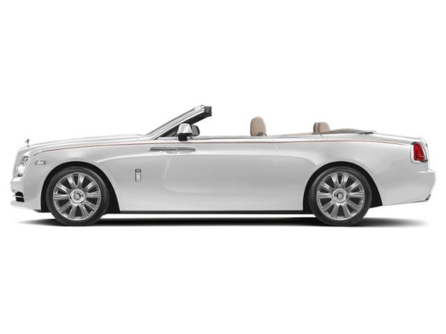 Andalusian White 2018 Rolls-Royce Dawn Pictures Dawn 2 Door Drophead Coupe photos side view