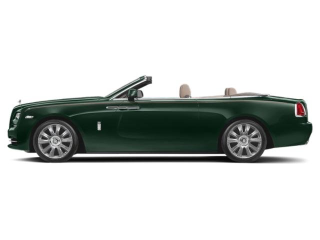 Dark Emerald 2018 Rolls-Royce Dawn Pictures Dawn 2 Door Drophead Coupe photos side view