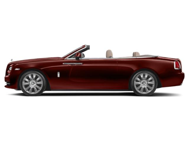 Red Velvet Sparkle 2018 Rolls-Royce Dawn Pictures Dawn 2 Door Drophead Coupe photos side view