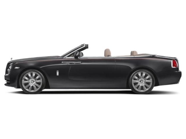 Gunmetal 2018 Rolls-Royce Dawn Pictures Dawn 2 Door Drophead Coupe photos side view