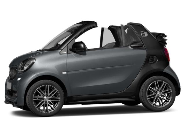 Titania Grey Matte 2018 smart fortwo electric drive Pictures fortwo electric drive Convertible 2D Passion Electric photos side view