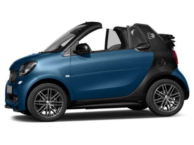 Midnight Blue Metallic 2018 smart fortwo electric drive Pictures fortwo electric drive Convertible 2D Passion Electric photos side view