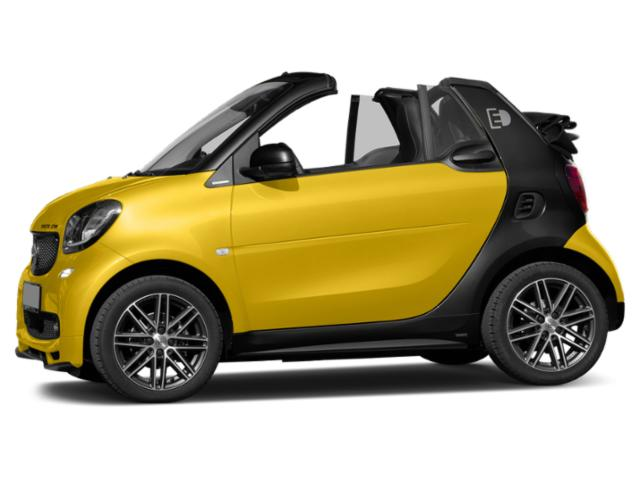 Black-to-Yellow Metallic 2018 smart fortwo electric drive Pictures fortwo electric drive Convertible 2D Passion Electric photos side view