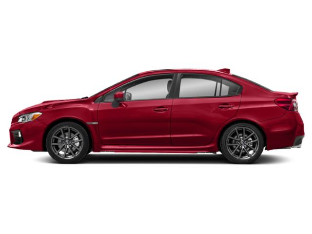 Pure Red 2018 Subaru WRX Pictures WRX Premium Manual photos side view