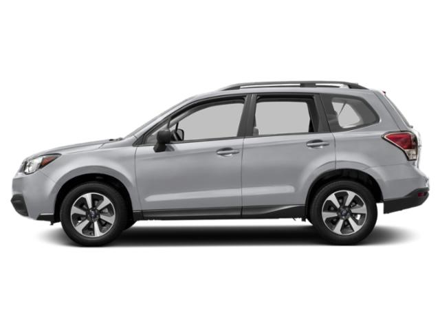 Ice Silver Metallic 2018 Subaru Forester Pictures Forester 2.5i CVT photos side view
