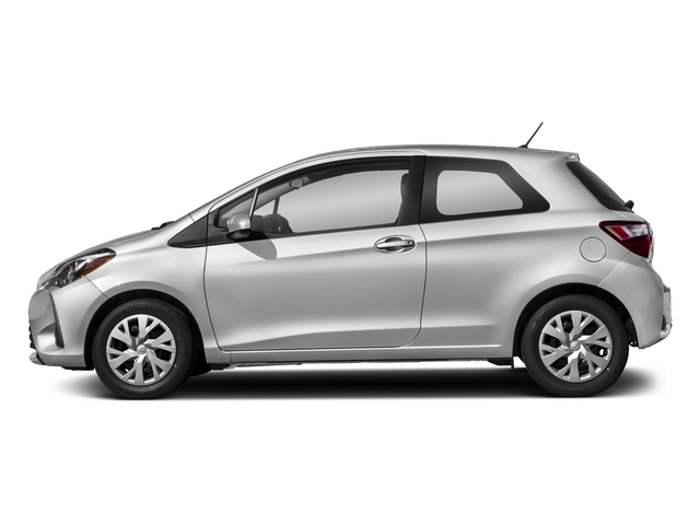 Classic Silver Metallic 2018 Toyota Yaris Pictures Yaris Hatchback 3D LE I4 photos side view