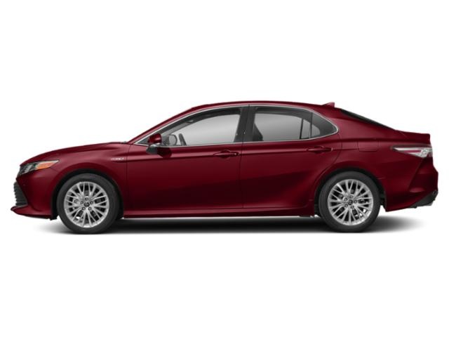 Ruby Flare Pearl 2018 Toyota Camry Pictures Camry Sedan 4D XLE I4 Hybrid photos side view