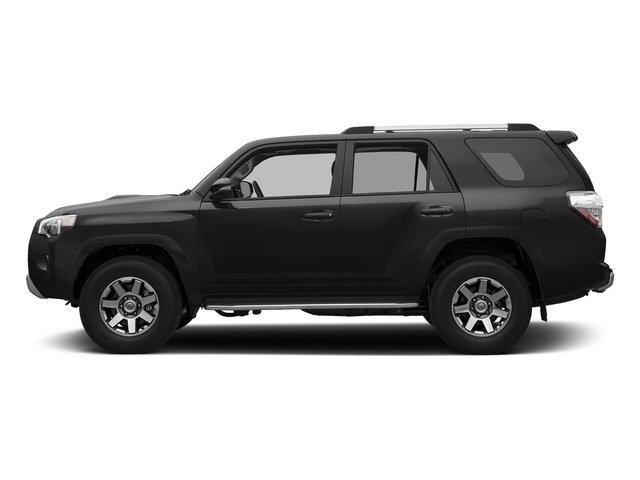 Midnight Black Metallic 2018 Toyota 4Runner Pictures 4Runner TRD Off Road 4WD photos side view