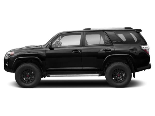 Midnight Black Metallic 2018 Toyota 4Runner Pictures 4Runner TRD Pro 4WD photos side view