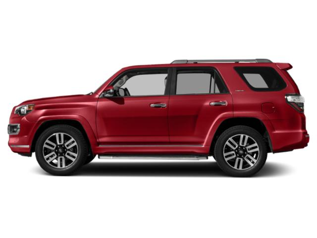Barcelona Red Metallic 2018 Toyota 4Runner Pictures 4Runner Utility 4D Limited 4WD V6 photos side view