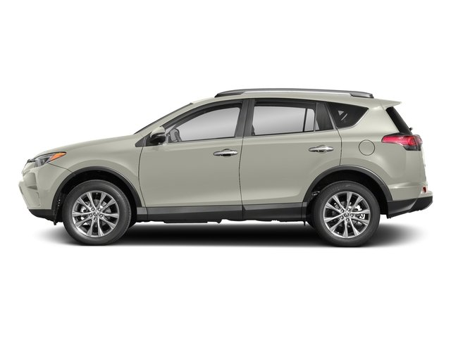 Blizzard Pearl 2018 Toyota RAV4 Pictures RAV4 Utility 4D Limited 2WD I4 photos side view