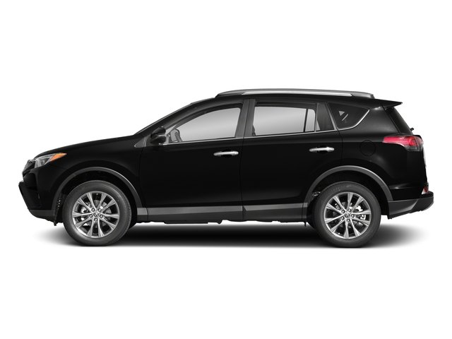 Black 2018 Toyota RAV4 Pictures RAV4 Utility 4D Limited 2WD I4 photos side view