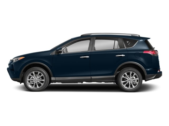 Galactic Aqua Mica 2018 Toyota RAV4 Pictures RAV4 Utility 4D Limited 2WD I4 photos side view